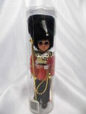 "Used Vintage British London Guard Solder Scepter Doll in Case 8"""