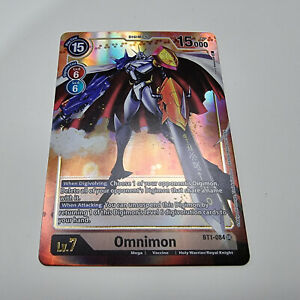 Digimon 2020 TCG 1.0 BT1-084 SR Omnimon Alt Alternate  Art Single Card