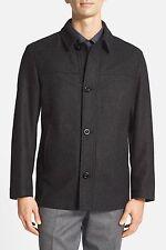 NEW MENS hugo boss 'Charliy' Wool Blend Dark Gray Jacket SIZE 46R