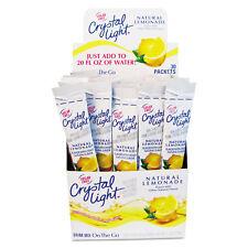 Crystal Light Flavored Drink Mix Lemonade 30 .17oz Packets/Box 79600