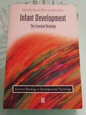 INFANT DEVELOPMENT THE ESSENTIAL READINGS MUIR & SLATER