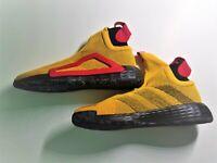 adidas Men's N3XT L3V3L Baseball Shoe, Bold Gold/Black/Scarlet, 13 US