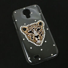 Samsung Galaxy S4 Hard Shell Phone Case Clear LEOPARD