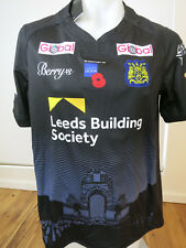 LEEDS RHINOS ARMED FORCES JERSEY MENS SIZE L