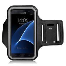 Brazalete de deporte para Samsung Galaxy S4 GT-I9500 S 4 IV SIV funda negro