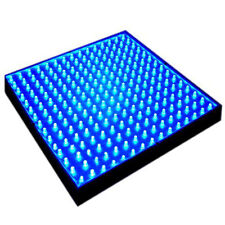 """HQRP Nueva panel LED de cultivo de 225 LEDs 12"""" 14W  luz azul + colgantes"""