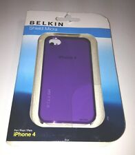 Belkin Shield Micra Brand New Purple Protective Case for iPhone 4