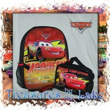 Disney CARS Backpack Lunch Box Lunch Bag