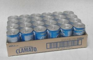 Mott's  CLAMATO JUICE 5.5oz. CASE/24  Red Bloody Mary Beer Chelada Clam Tomato