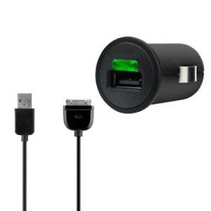 Belkin Micro Auto charger for Ipad 3 and Iphone 4/4S - 2.1 Amper