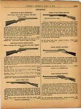 1940 AD Benjamin Daisy Double Barrel Repeater Pop Gun BB Gun Pump Buck Jones