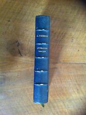 PIERRON Alexis - Histoire de la Littérature Grecque. - 1882 -