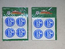4 Sticker Aufkleber Felge Radkappe Schalke 04  S04 (2029)