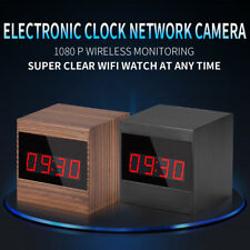 1080P HD Mini WIFI SPY Hidden Clock Camera P2P IR Night Motion Nanny Video DVR