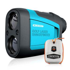 Mileseey Golf Laser Range Finder 660 Yards Flag-Lock 6x Magnification Hunting