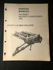 New Holland Haybine Mower Conditioner 495 529 530