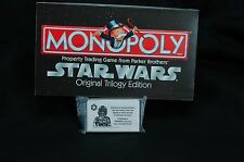 2004 Star Wars Original Trilogy MONOPOLY Game Replacement IMPERIAL & REBEL Cards