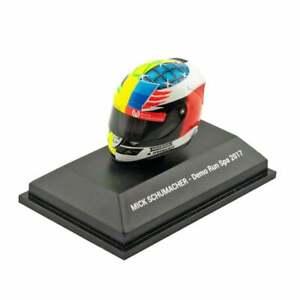 Minichamps 1:8 Mini F1 Helmet Mick Schumacher Demo Run Spa 2017