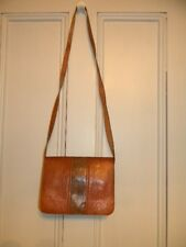 Women Artisan Hand Crafted Handbag Leather in Light Brown