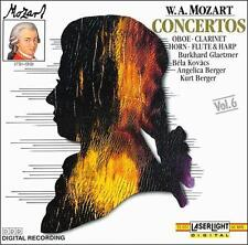 Audio CD W.A. Mozart: Concertos (Oboe, Clarinet, Horn, Flute, and Harp)  -