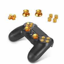 Ps4 controller analogico ALLUMINIO bottoni button d PAD JOYSTICK Alu Set Oro