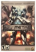 Gun Metal Gunmetal War Transformed Pc New Boxed XP Countless Conquests