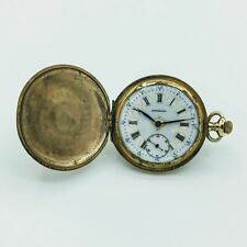 Sidewinder Hunter Pocket Watch 8s #764387 Antique Buren Swiss Imperial 7J 2 Adj