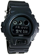 Casio G-Shock Digital 200m Black Resin / Cordura Nylon Watch DW6900BBN-1