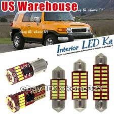 13-pc Super White LED Light Interior Package Kit Fit Toyota FJ Cruiser 2007-2013