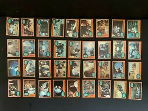 1977 Topps Star Wars 5th Series 5 Complete 66 Orange Card Set EX+