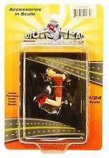Motorhead Miniatures Figurine 235 Darlene in Brown Dress 1:24 Scale Mint in Box