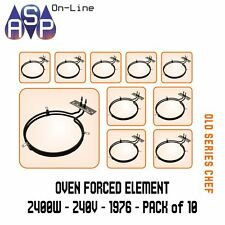 CHEF FAN FORCED OVEN ELEMENT 2400W - 240V - PART 36758 # 1976 PACK 10
