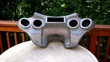 Harley Davidson Road King fairing 4 speakers batwing fairing Grey Gel coated