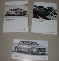 Betriebsanleitung Audi A6 + S6 Typ C7 RS6 + quattro + MMI Navi BA + Kurz 2013!