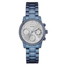 Women's Quartz (Battery) Silver Case GUESS Wristwatches