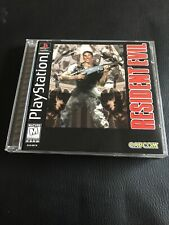 Resident Evil Sony PlayStation Ps1 Complete W Registration Card Ps2 Ps3 Capcom