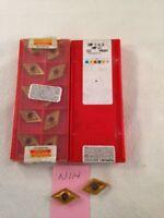 12 NEW SANDVIK DNMP. (2) 431 & (10) 432 CARBIDE INSERTS.  GRADE: 1025.  {N114}