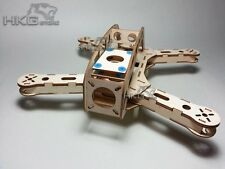 Wooden FPV 280 Laser Cut Quadcopter Mini-Copter Frame kit DIY painting