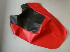 Motorcycle seat cover - Ducati Monster in black & red