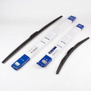 Genuine OEM Wiper Blade Set for 2017 2018 Kia Niro 98360-1W050, 98350-3S300