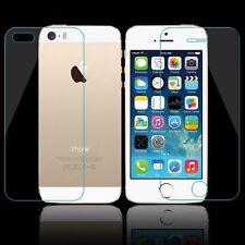Front+ Rückseite für Apple IPhone SE 5 5s Display Folie Echt Glas 9H