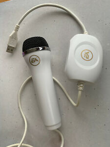 Official EA Logitech USB Microphone - Black, Wired, Genuine - Wii PC Max Xbox PS