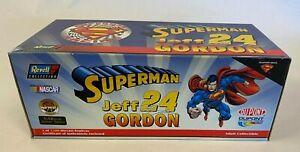 NEW in BOX Revell Jeff Gordon NASCAR #24 1999 Superman DuPont NASCAR1:18 Scale