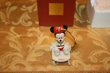 Lenox (C) Disney Minnie's Sledding Adventure Ornament Carissa Signed
