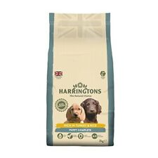 Harrington's Complete Dry Puppy Food Rich In Turkey And Rice, 2kg - Harringtons