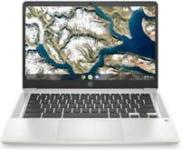"""HP 14"""" Chromebook Intel N4000 2.60GHz 64GB SSD 4GB RAM Google Classroom - Webcam"""