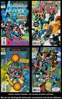 Avengers: The Terminatrix Objective 1 2 3 4 Complete Set Run Lot 1-4 VF/NM