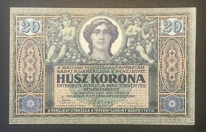 Hungary - 20 Korona Banknote - 1919 - XF