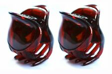 Set Of 2 French Hair Claw Strong Celluloid Acetate 1.5 Inch Mini Jaw Clips T56