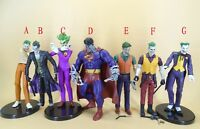 "DC Direct Batman Arkham Asylum THE JOKER Bizarro  Big Barda action  Figures 6"""